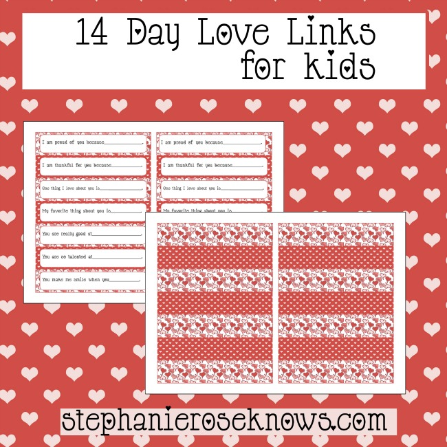 14 Day Love Links for Kids