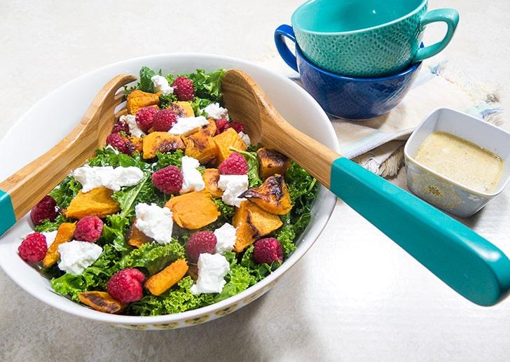 Kale Butternut Squash Salad