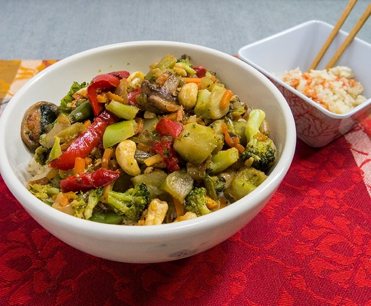 Chinese Vegetarian Stir Fry
