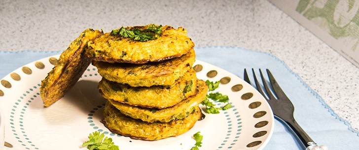 Cauliflower & Chickpea Patties