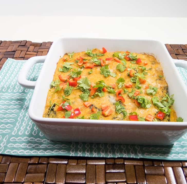Grits & Spinach Casserole
