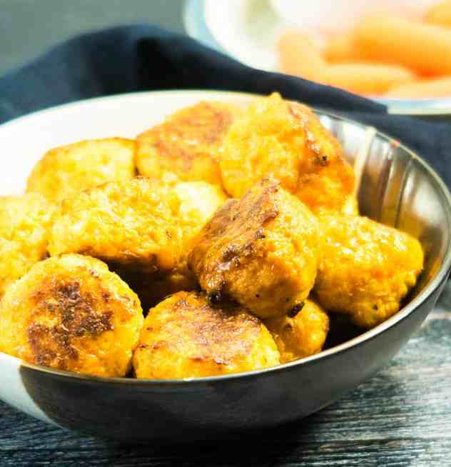 Spicy Cauliflower Cheese Bites