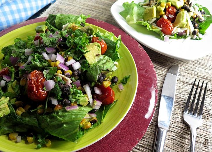 Grilled Corn & Tomato Summer Salad