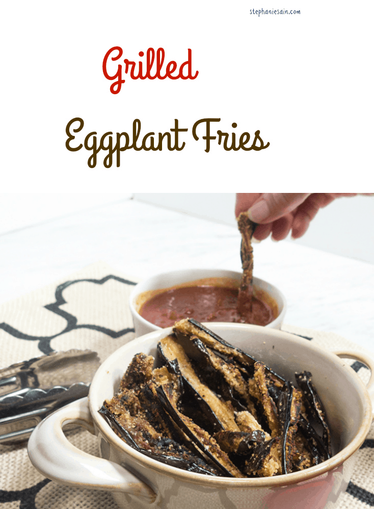 Grilled Eggplant Fries