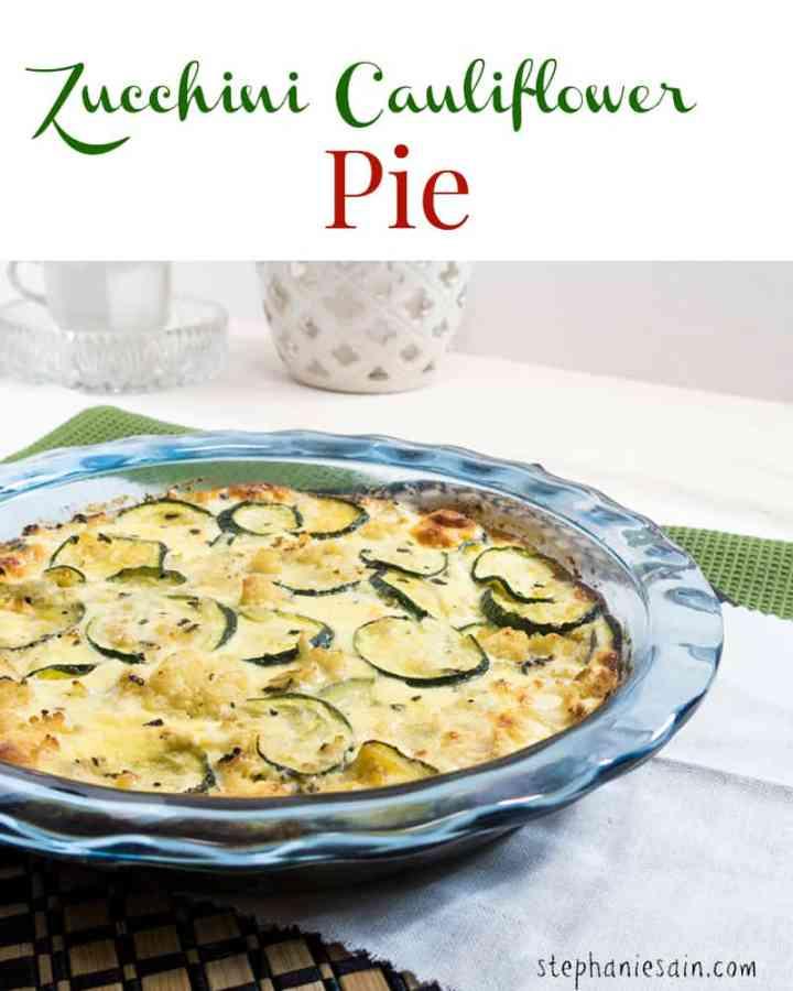 Zucchini Cauliflower Pie