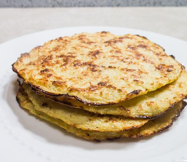 Cauliflower Tortilla Mushroom Quesadilla