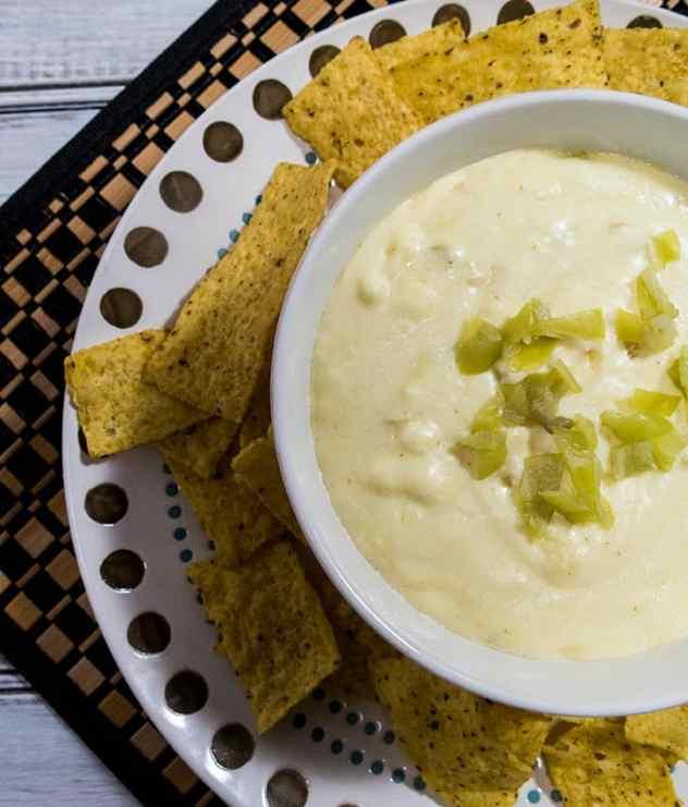 Easy Crock Pot Queso Blanco Dip