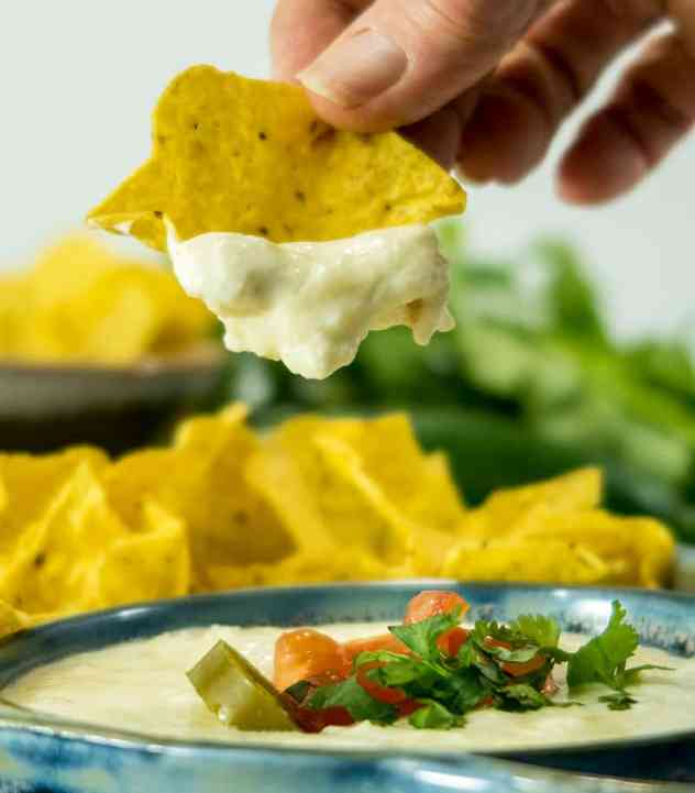 Easy Crock Pot Queso Blanco