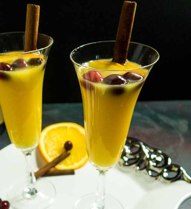 Orange Cinnamon Mimosa