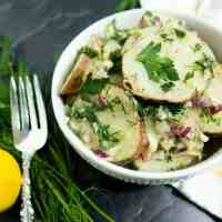 Lemon Dill Potato Salad (Vegan, Gluten Free)