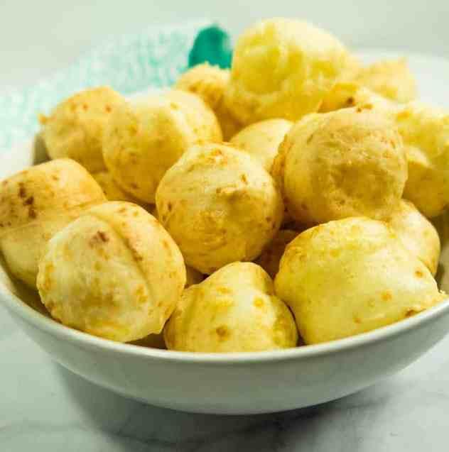 Easy Brazilian Cheese Puffs