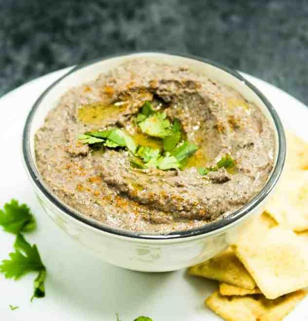 Black Bean Jalapeno Hummus Dip