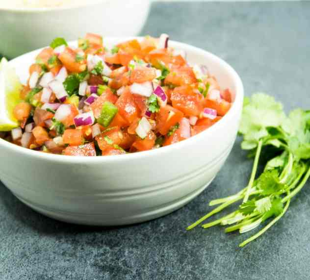 Authentic Homemade Pico De Gallo
