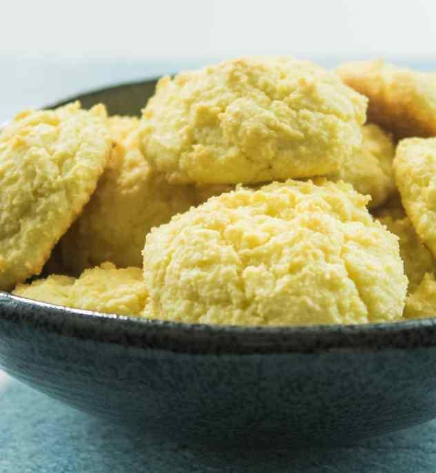 Almond Flour Drop Biscuits (Gluten Free)