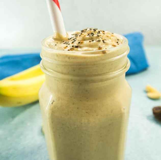 Cashew Date Banana Shake (Vegan & Gluten Free)
