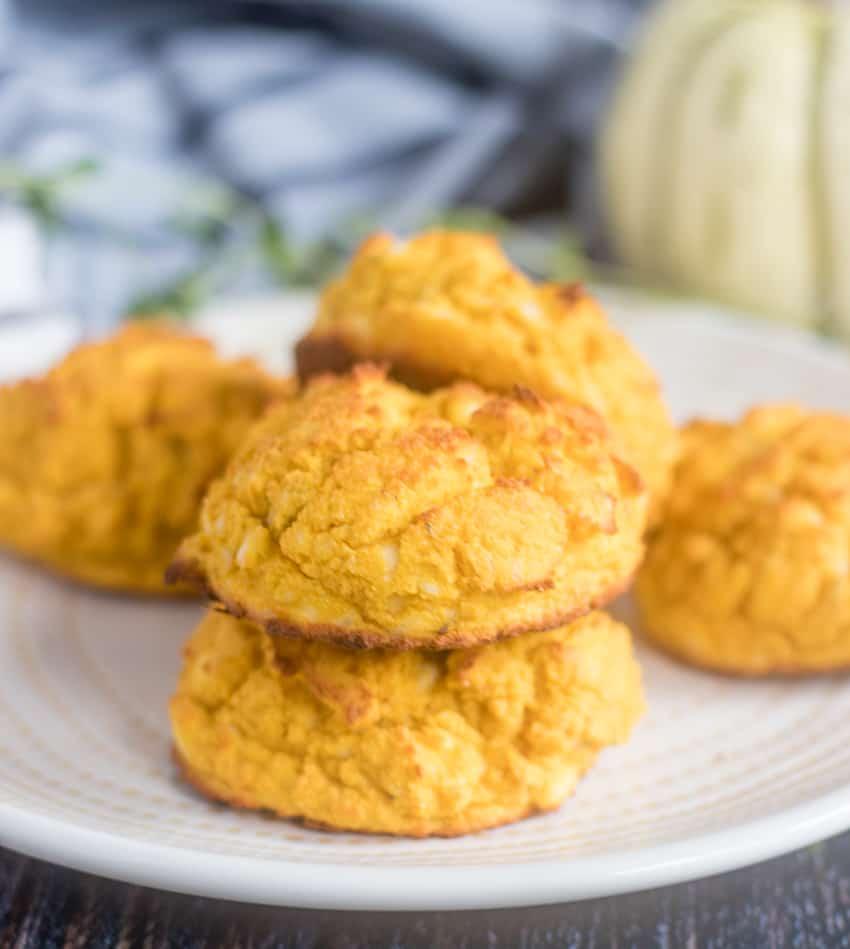 Savory Pumpkin Drop Biscuits