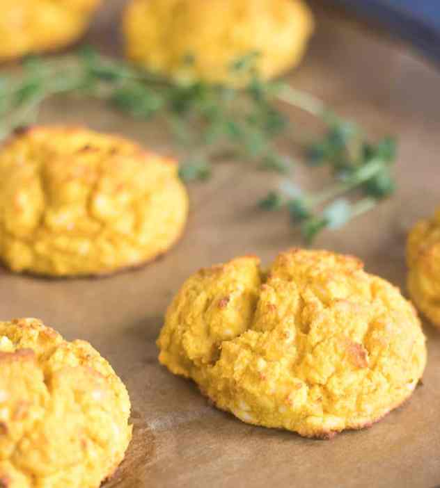Savory Pumpkin Drop Biscuits