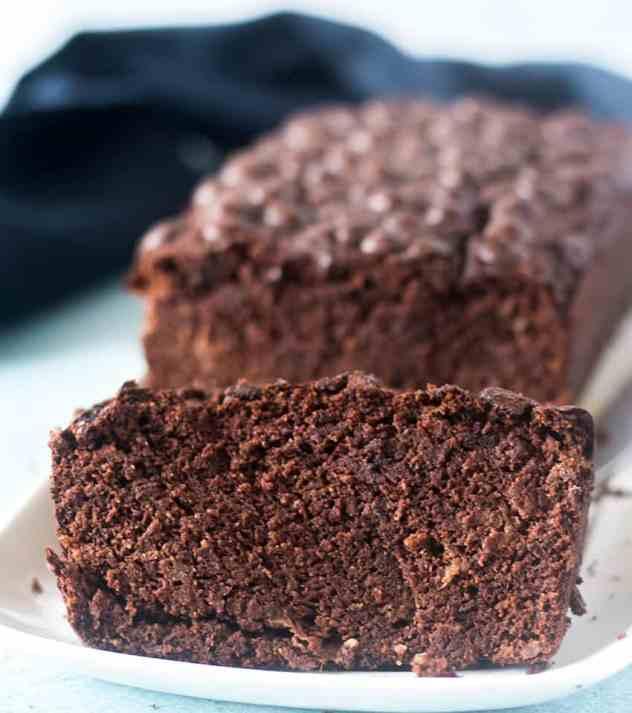Chocolate Almond Flour Banana Bread