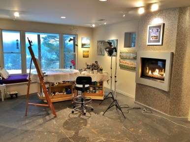 Decluttered Studio