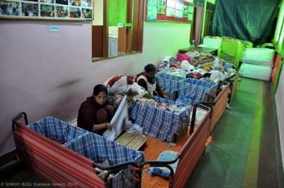 Making of sanitary napkins