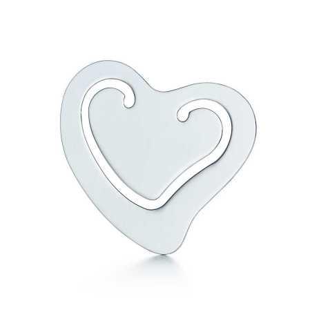 Tiffany.com heart bookmark