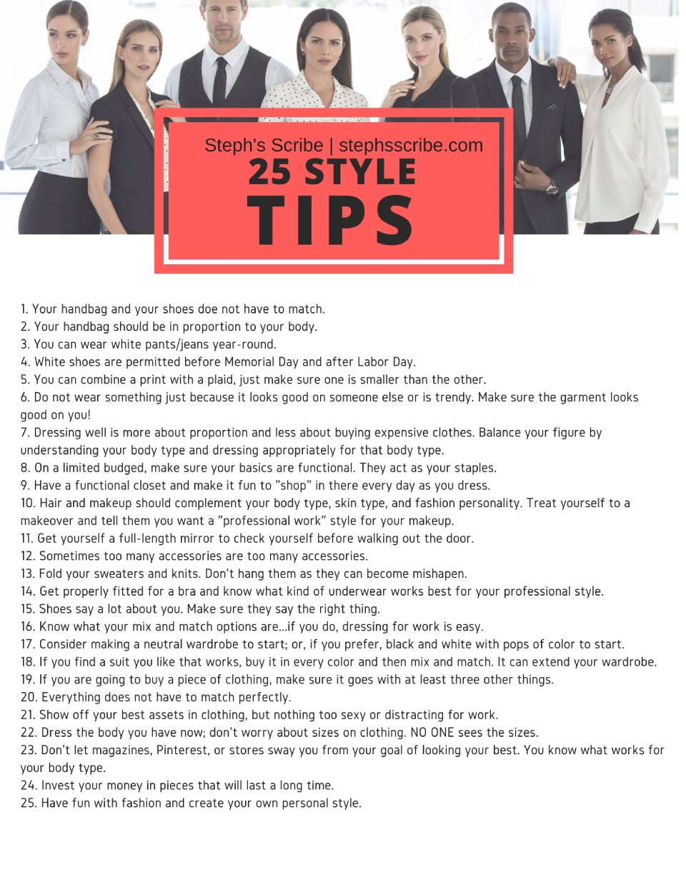 25 style tips(3)