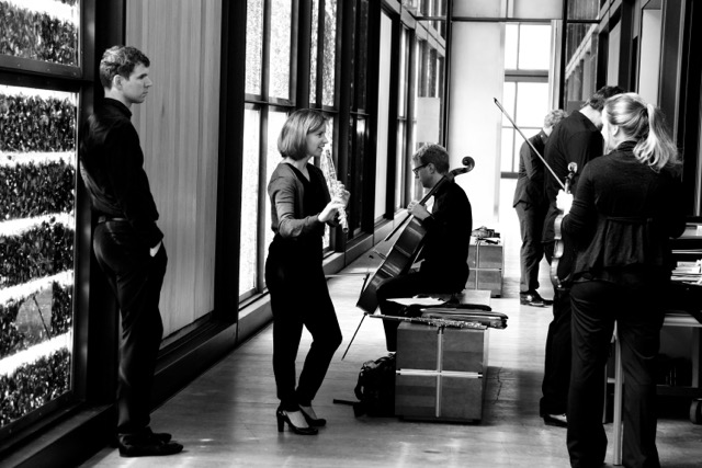 Teilnehmer der Sommerkonzerte Volkenroda im Christuspavillion Volkenroda