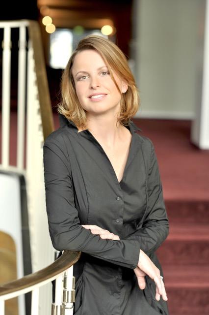 Flötistin Stephanie Winker