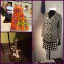 Some of my favorite items from the V&A, including a Les Paul smashed by Pete Townsend, and a fab outfit designed by Marion Foale and Sally Tuffin