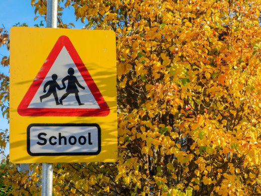 school-warning-road-sign