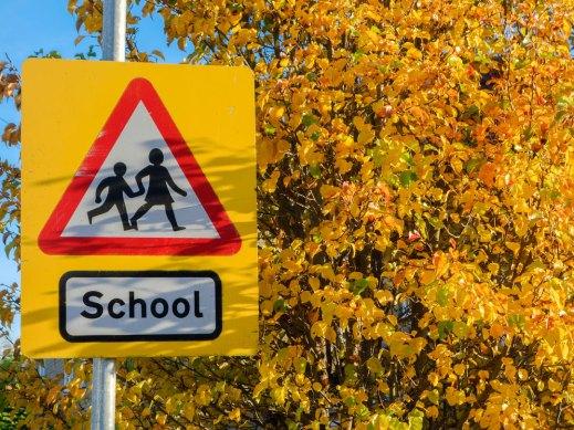 school-warning-road-sign