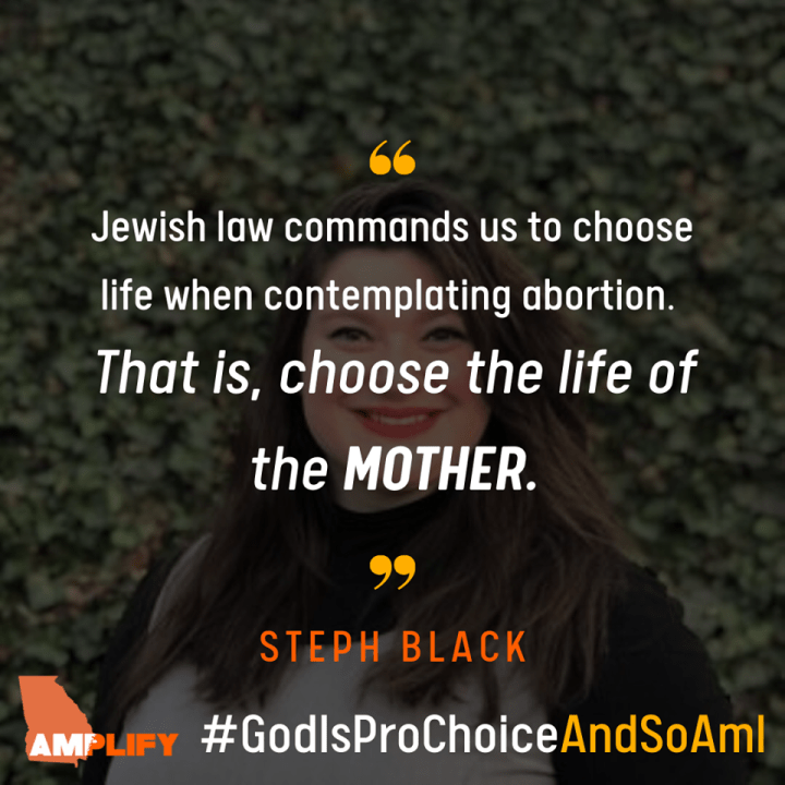 Hashem is Pro-Choice and So Am I: Amplify GA's new campaign