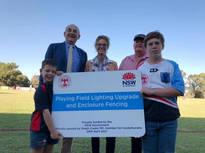 Upgrades Opened to Cowra Rugby