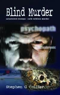 Crime fiction book cover Blind Murder
