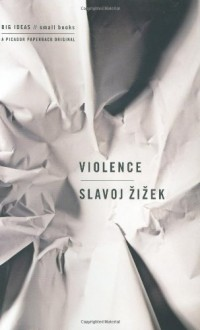 The cover of Žižek's Violence