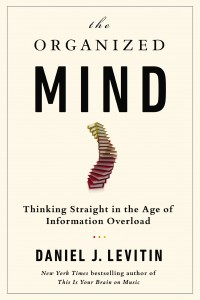 The cover of Levitin's the Organized Mind