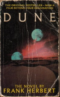 The cover of Herbert's Dune