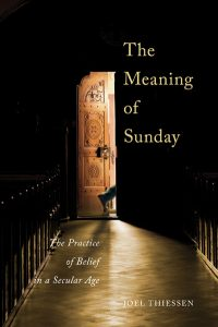 The cover of Thiessen's The Meaning of Sunday