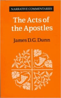 The cover of Dunn's The Acts of the Apostles