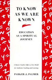 The cover of Palmer's To Know As We Are Known