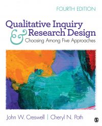 The cover of Creswell & Poth's Qualitative Inquiry and Research Design