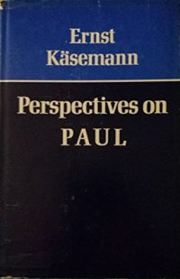 The cover of Kasemann's Perspectives on Paul