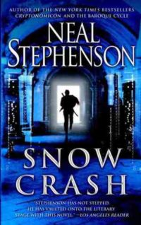 The cover of Stephenson's Snow Crash