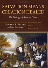 The cover of Snyder's Salvation Means Creation Healed