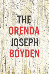 The cover of Boyden's The Orenda