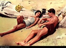 BKGF5G ISLAND IN THE SUN (1957) JOAN COLLINS, STEPHEN BOYD ISIS 002 FOH