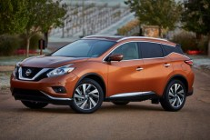 This undated photo made available by Nissan shows the 2015 Nissan Murano. (AP Photo/Nissan)