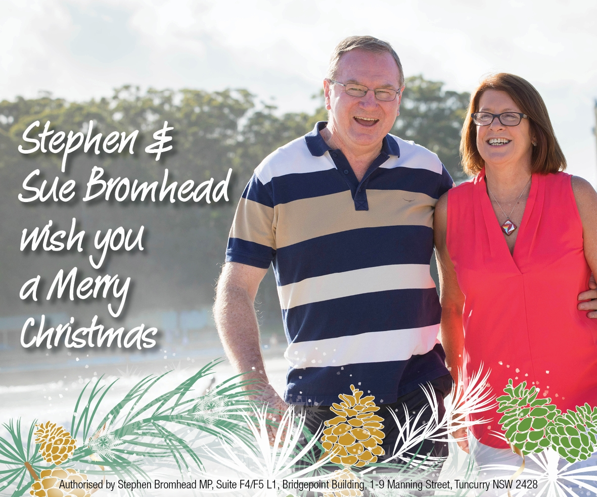 Christmas Message from Stephen & Sue