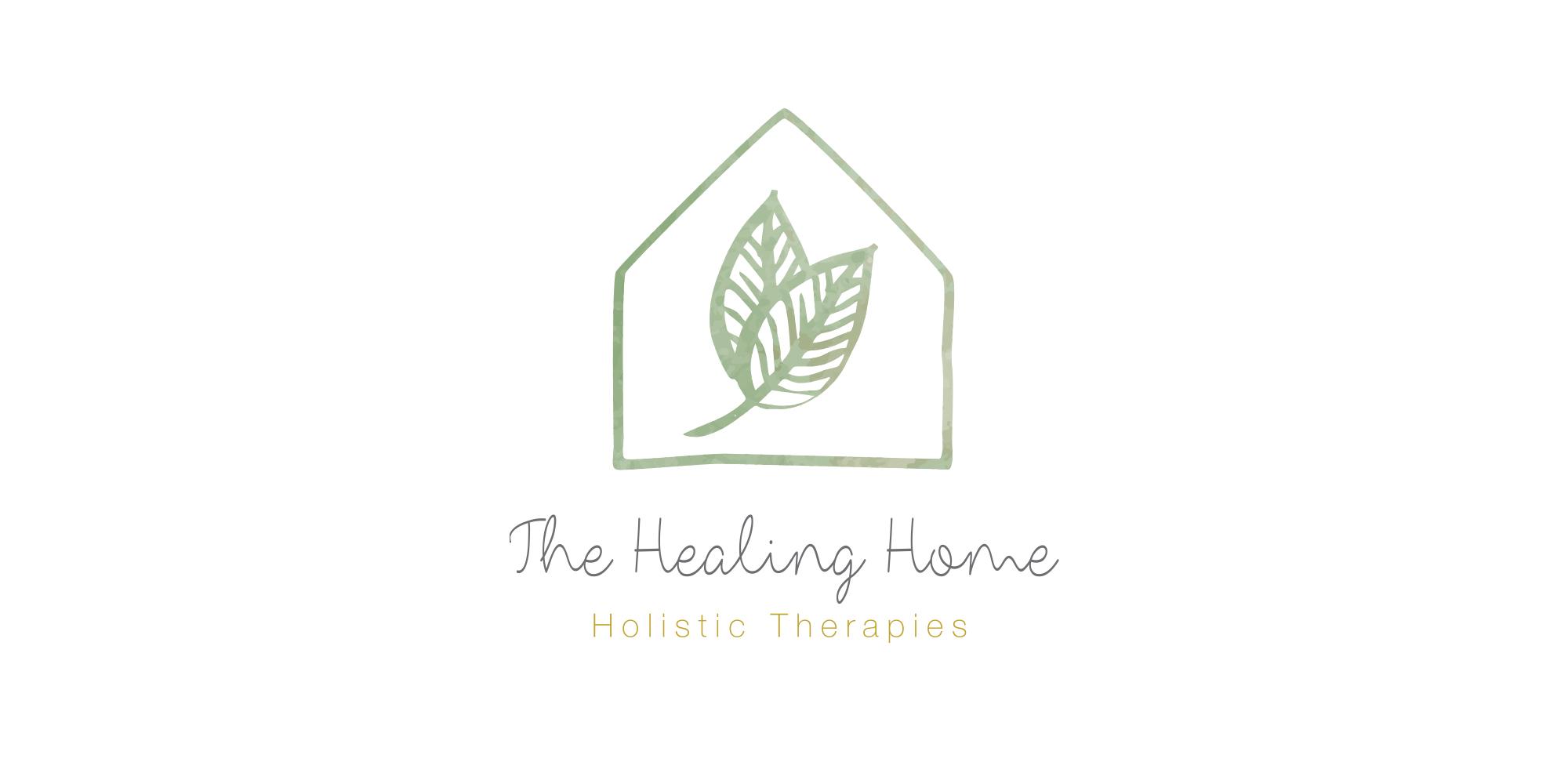 The healing Home Logo Branding Identity Design