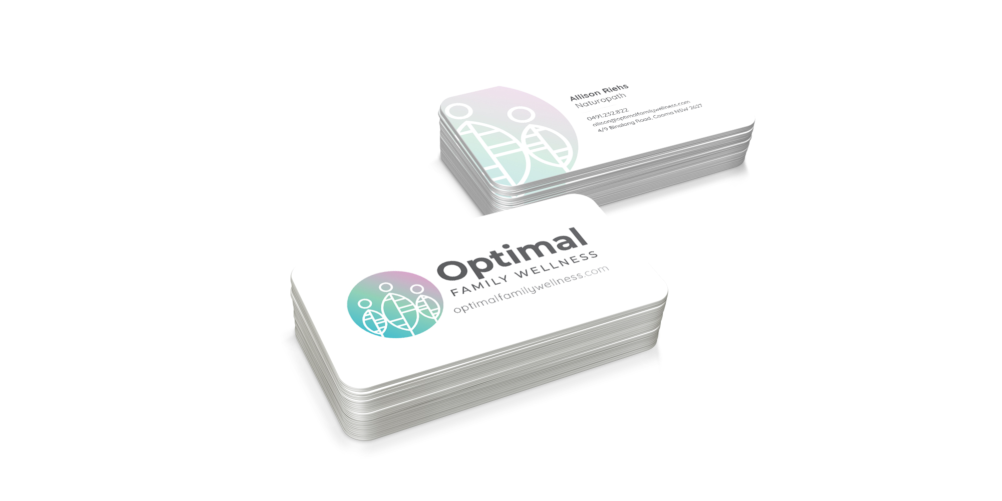 Optimal Family Wellness Business Card